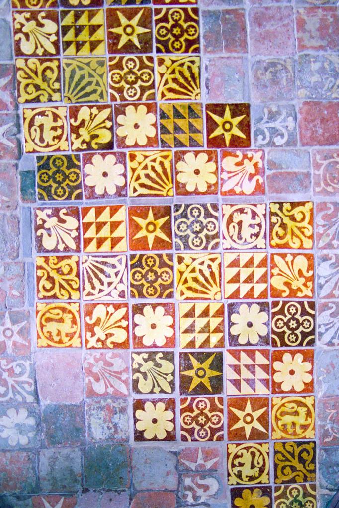 Eleventh century tiles