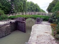 An open lock