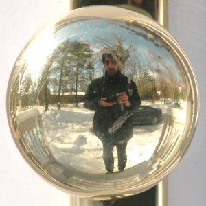 Doorknob in Winter