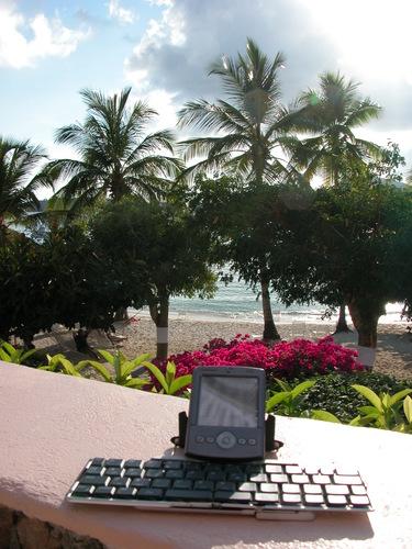 Blogging in Paradise