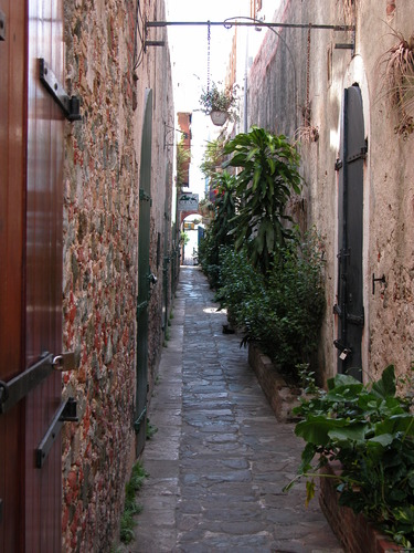 Alley in Charlotte Amalie