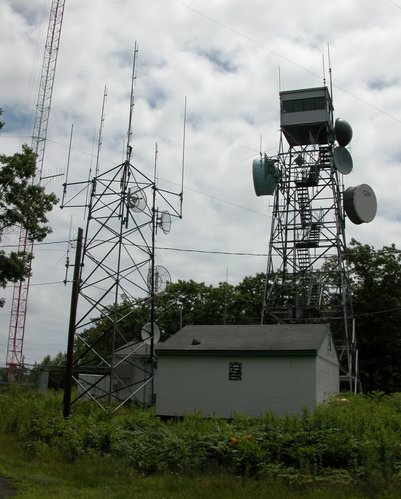 Mt. Lincoln Radio Towers