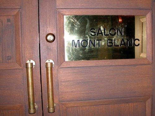 Salon Mont Blanc