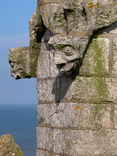 Gargoyles on the Cromer Cathedral
