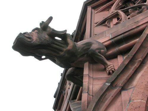 """""""Bull"""" Gargoyle"""
