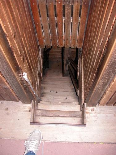 Stairs: Narrow and Steep
