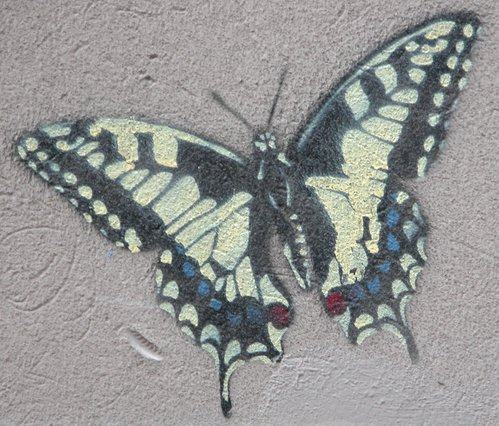 Butterfly Graffito