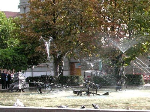 """""""Tinguely"""" Fountain"""