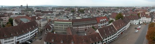 Basel from Münster Cathedral
