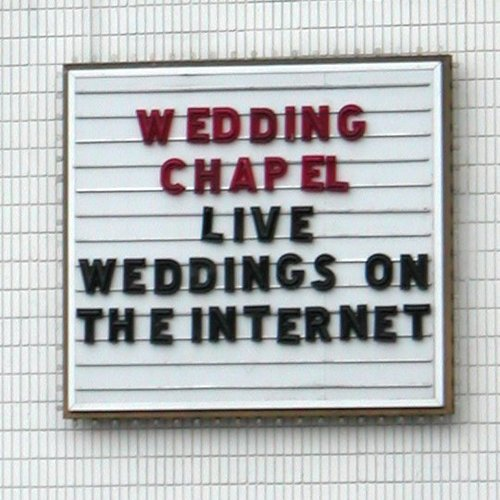 Live weddings on the Internet