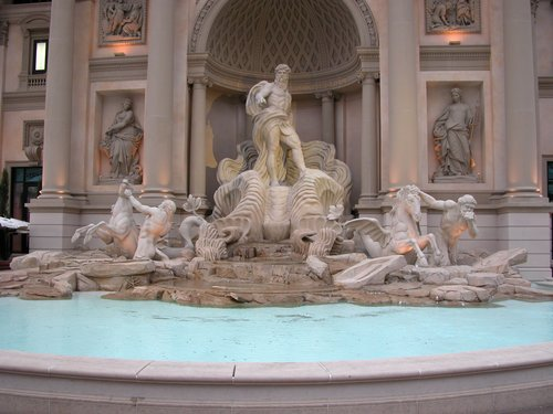 Faux Trevi Fountain