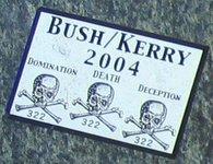 Bush/Kerry 2004