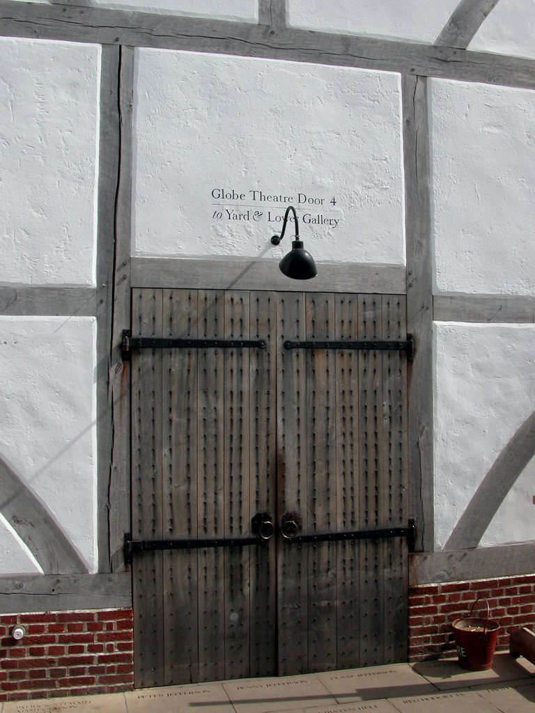 The Globe Theatre Door 4