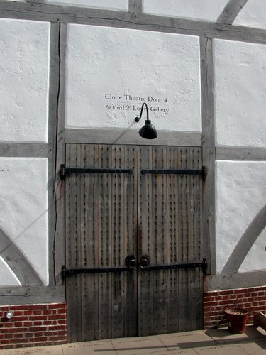 The Globe Theatre Door 4
