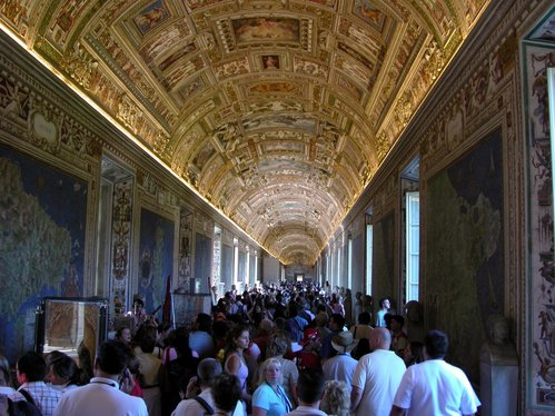 Vatican Museum Gallery of Maps