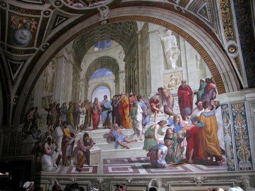 Vatican Museum Fresco