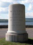 Windsor Dam Marker