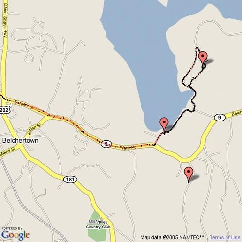 Tracking Quabbin Tower Trove Cache