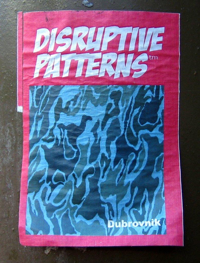 Disruptive patterns Dubrovnik
