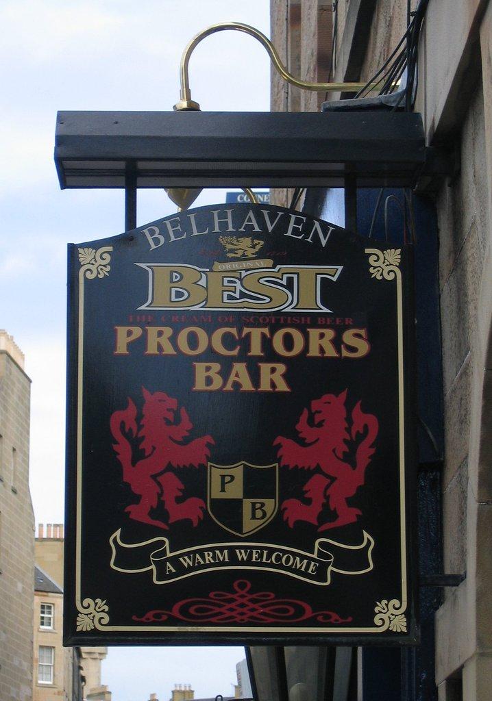 Proctors Bar