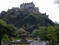 Castle in Edinburgh