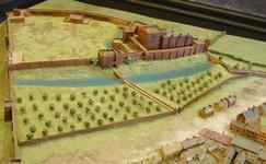 Carlisle Castle Model