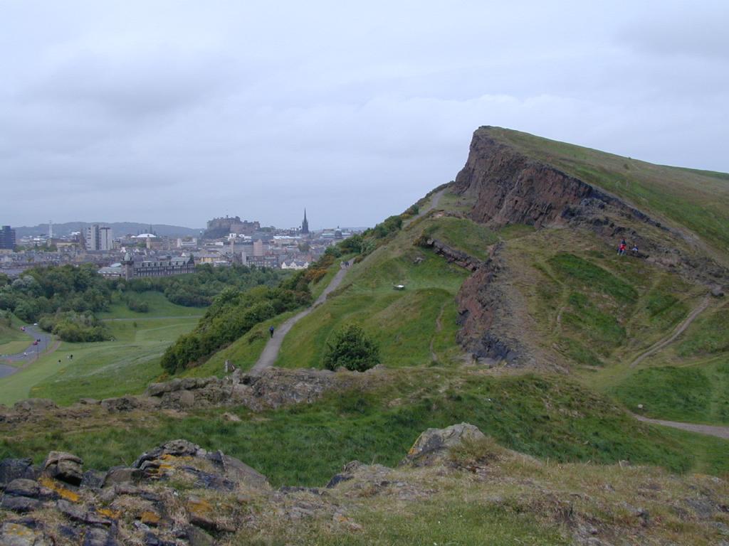 Ridge Near Arthur's Seat