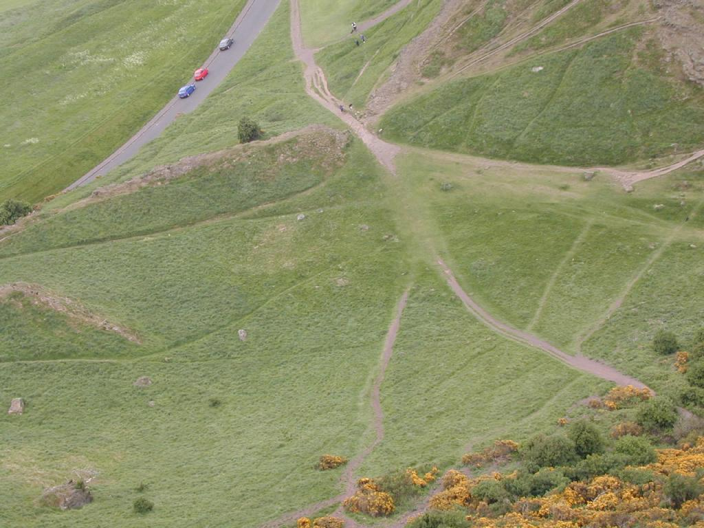 Looking Down from Arthur's Seat