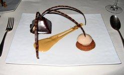 Dessert at Le Mas Candille
