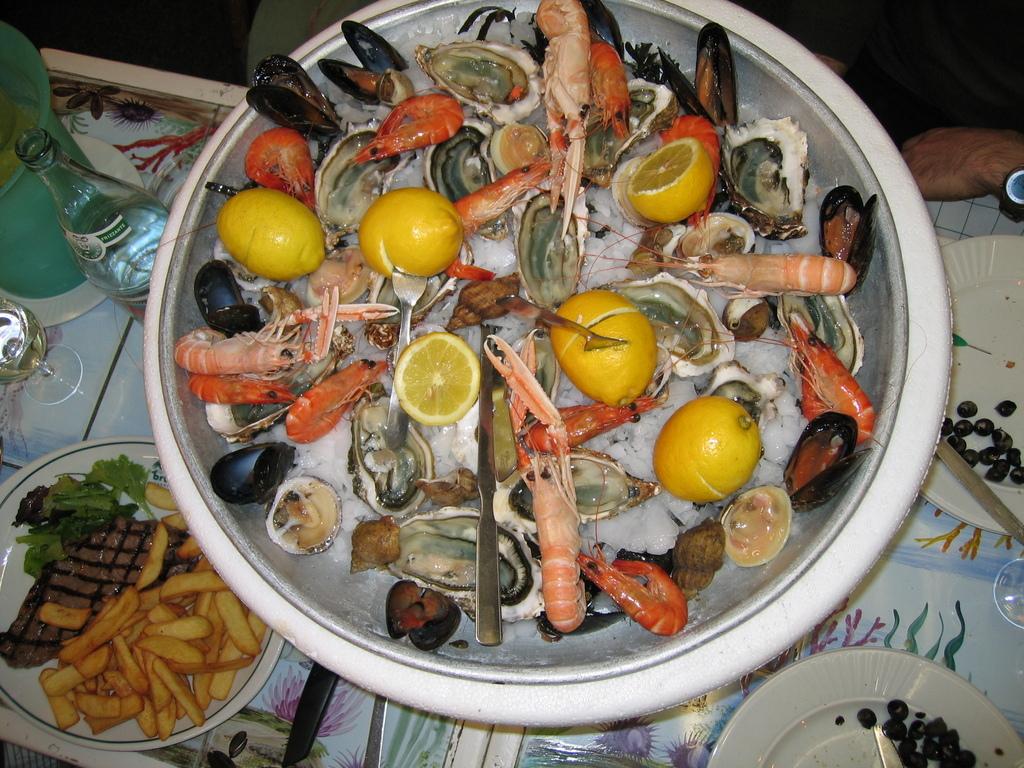 Dinner at Astoux et Brun