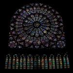South Rose Window in Notre Dame de Paris