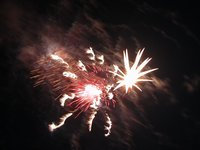 Fireworks, 4 July 2006