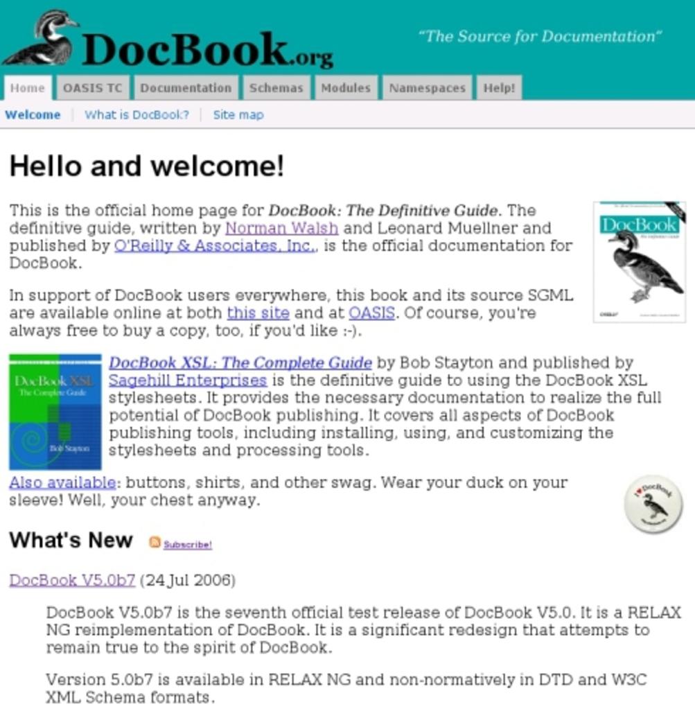 DocBook.org (New Design)