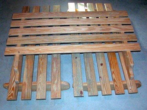 TAKEN: Wooden futon frame