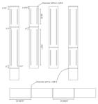 Bookcase plans (router detail)