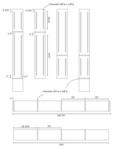 Revised bookcase plans (router detail)