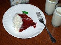 Red velvet cake (dessert)