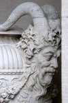 Detail of an urn at The Breakers