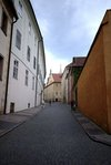 Street in Prague Castle
