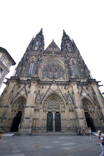 St Vitus Cathedral at Prague Castle