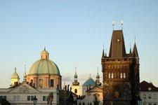 Prague spires