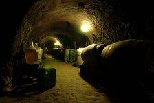 Mr.  Adámek's wine cellar