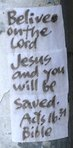 Belive on the Lord