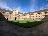 Wadham College Quad