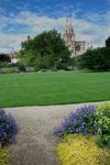Oxford garden at Christ Church