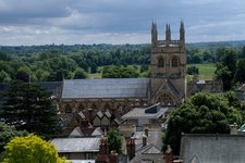 Oxford from the University Church of St Mary the Virgin