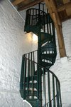 Spiral stair at Carfax Tower