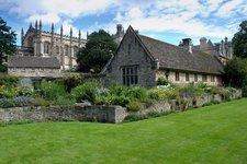 Oxford garden near Christ Church