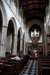 Inside the University Church of St Mary the Virgin