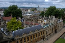 Brasenose from the University Church of St Mary the Virgin
